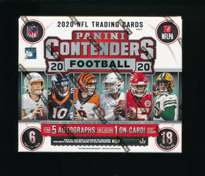 PURCHASE 2 TEAMS: 2020 Contenders Football Hobby ID 20CONTFB150