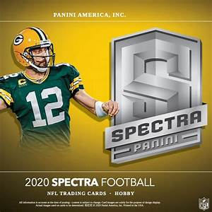 RANDOM DIVISION BREAK 2020 Panini Spectra Football Hobby Box ID 20SPECDIV501