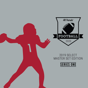 EVERYBODY GETS 2 TEAMS: 2020 Hit Parade 19 Select Master Set Series 1 Football ID 19SELECTMSTRFB112