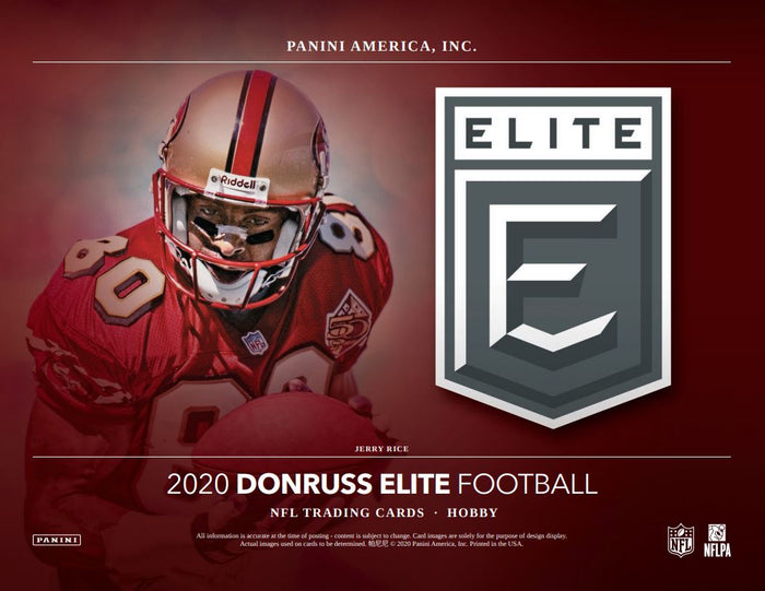 2 RANDOM TEAMS: 2020 Panini Donruss Elite Football ID 20DONELITEFB102