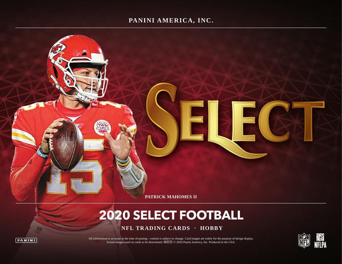 2 Teams in a Single Pack: One Pack Break, 2020 Panini Select Football ID 20SELECTFB304