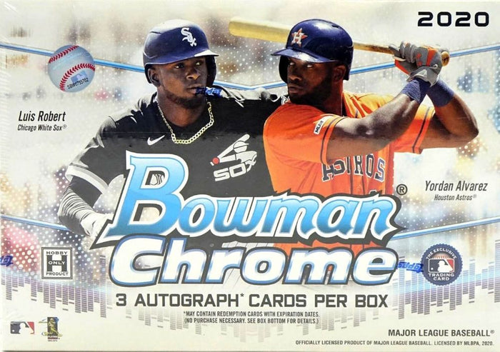 2 RANDOM TEAMS: 2020 Bowman Chrome Baseball HTA CHOICE ID 20BOWCHRHTA00241
