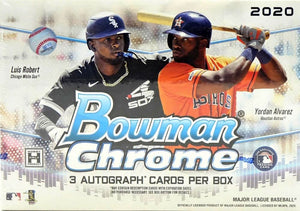 2 RANDOM TEAMS: 2020 Bowman Chrome Baseball HTA CHOICE ID 20BOWCHRHTA0241