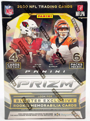 5 SPOTS BREAK RANDOM BONUS Premium Screen Treasures Box PSTREASURES102 2 TEAMS: 2020 Panini Prizm Football Blaster ID 20PRIZBBOX516
