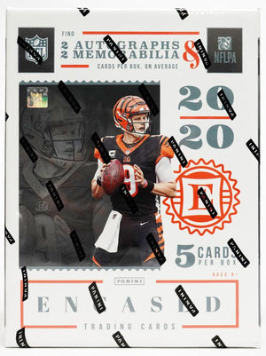 Purchase 1 Team in a Single Box: 2020 Panini Encased Football Hobby ID 20ENCASED102
