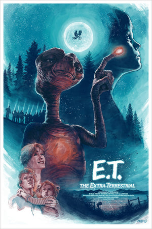 PHONE HOME by Barrett Chapman Limited Edition Print ID ETPHONEHOME101