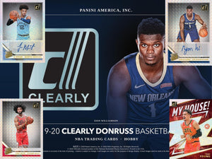 2 RANDOM TEAMS: 2019_20 Panini Clearly Donruss Basketball ID CLEARLYDON109