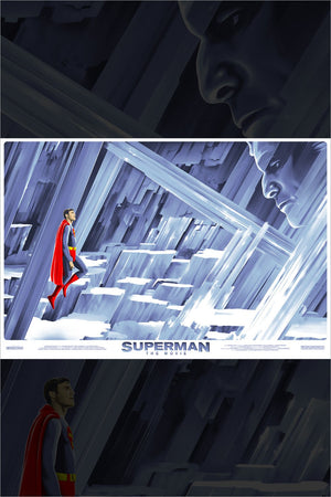 FORTRESS OF SOLITUDE by Chris Koehler Limited Edition Print ID SUPERMAN301