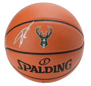 BONUS RANDOM Giannis Antetokounmpo Milwaukee Bucks Autographed Basketball 2 SINGLE PACKS BREAK 2020/21 Panini Donruss Basketball & 2021 Panini Prizm Basketball Hobby ID GAPACKMIX501