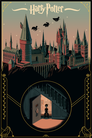 DREAMING OF HOME by Glen Brogan Limited Edition Print ID HARRYPOTTER102