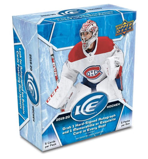 2 RANDOM TEAMS 2019/20 Upper Deck Ice Hockey Hobby Box ID 20UDICEHOCK103