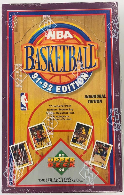 EVERYBODY GETS 2 PACKS: 1991/92 Upper Deck Basketball Hobby ID 9192UDBSK102