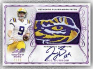 5 CHECKLIST PLAYERS PER SPOT: 2020 Leaf Trinity Football Hobby ID 20TRINFB202