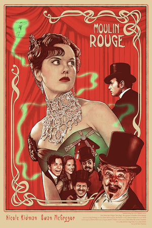 SPECTACULAR SPECTACULAR by Neil Davies Limited Edition Print ID MOULINROUGE101