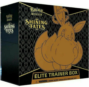 EVERYBODY GETS A PACK: Chase Shiny Charizard Pokemon Shining Fates Elite Trainer Box ID POKEMONETB144