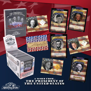 Purchase 2 presidents: 2020 P.O.T.U.S A Word From The President Box ID POTUS203