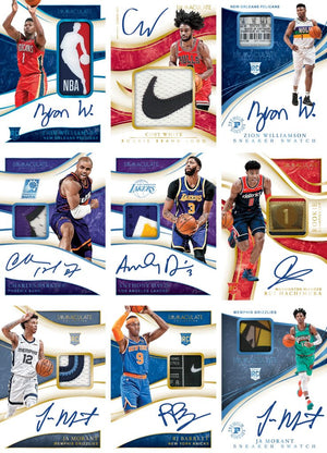 ENTIRE BOX RIPPED LIVE: 2019_20 Panini Immaculate Basketball Hobby ID 1920IMMACBSK201