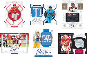 Purchase 1 Team in a Single Box: 2020 Panini National Treasures Football Hobby ID 20NTFB101