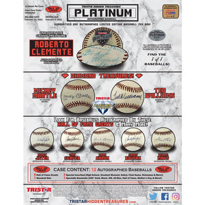 LOOSE BOX Purchase a Digital Trading Card plus bonus last name letter in 2021 Tristar Autographed Baseball Platinum Edition ID 21TRISPLATBB363