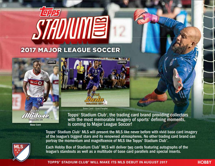 Everybody gets a pack: 2017 Topps Stadium Club MLS Soccer 18STADIUMSOC101