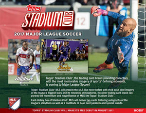 RANDOM SINGLE TEAMS: 2017 Topps Stadium Club MLS Soccer 18STADIUMSOC104