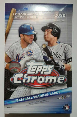 6 BOX HALF CASE BREAK 2 RANDOM TEAMS: 2020 Topps Chrome Baseball Hobby ID 20CHOBHCB320