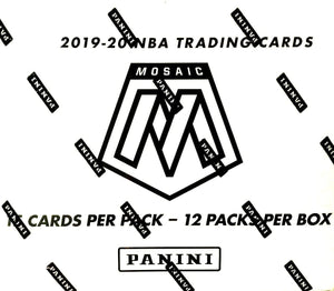 2 TEAM RANDOM: 2019/20 Panini Mosaic Basketball Multi-Pack Box ID 1920MOSAICMULTI106