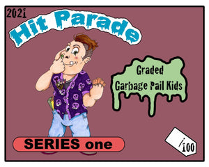 2021 Hit Parade Graded Garbage Pail Kids Hobby Box Series 1 ID 21GPK103