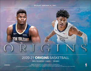 Purchase 2 Teams in one box: 2020/21 Panini Origins Basketball Hobby ID 21ORIGINSBSK109