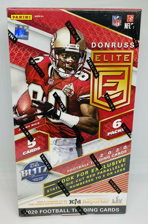 EVERYBODY GETS 2 TEAMS: BOX 12 OF CASE 2020 Panini Donruss Elite Football Hobby Tmall 20ELTMALLFB112