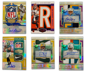 Purchase 2 Teams: 2020 Panini Plates & Patches Football Hobby ID 20PLATPATCH117