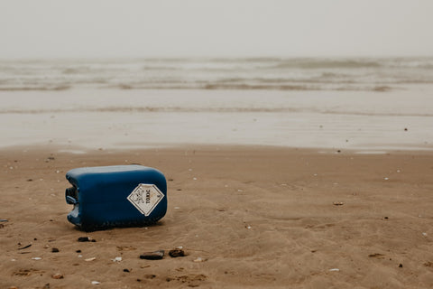 Harmful chemicals washed up on beach