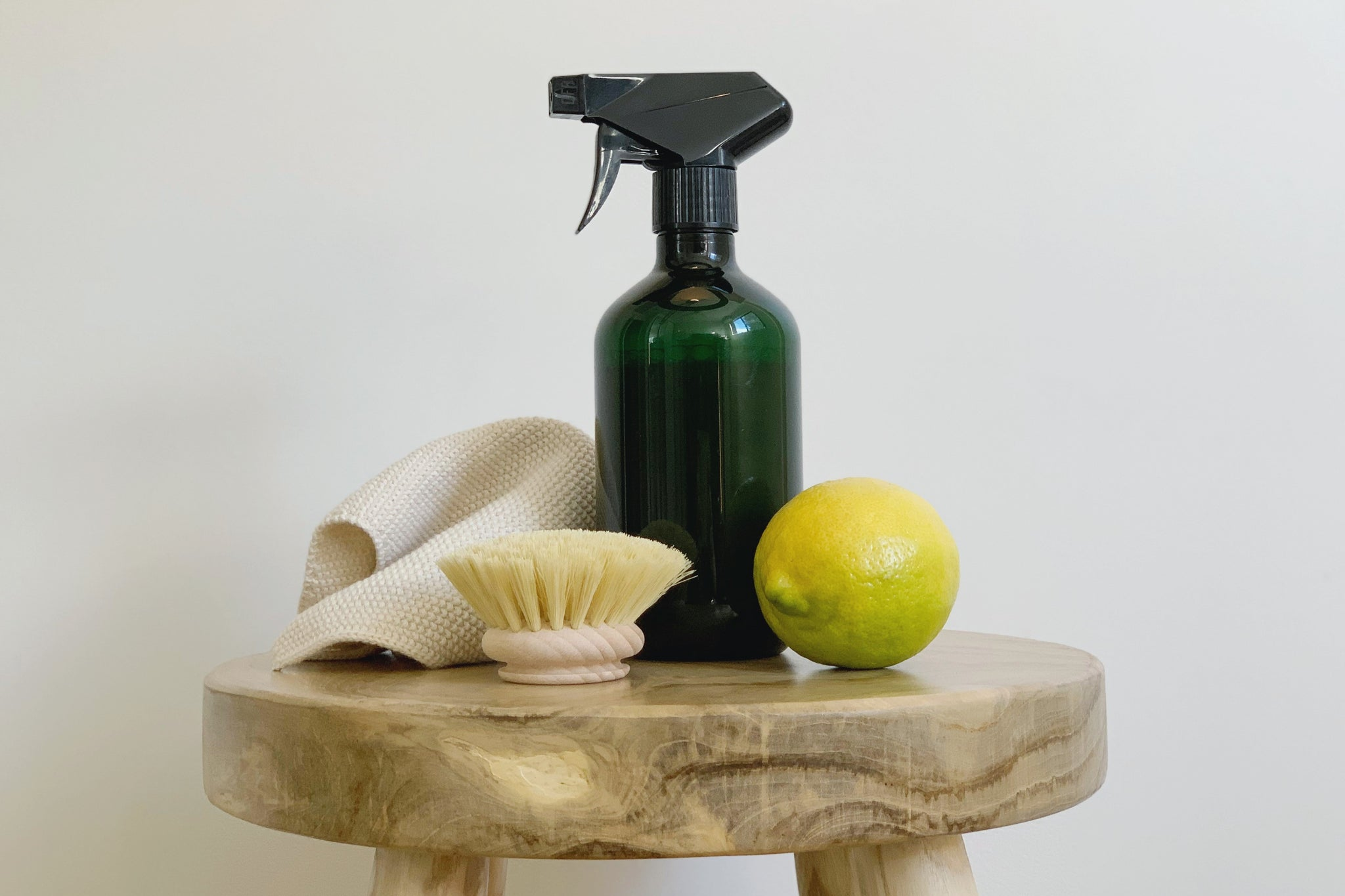 Homemade all-purpose cleaner with lemon juice