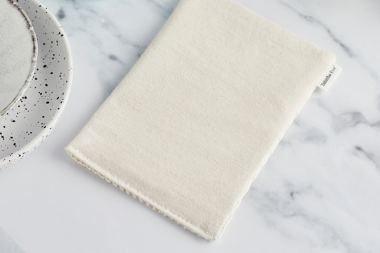 Reusable sponges for natural cleaning