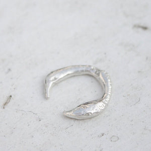 Char Adjustable Eco Silver Ring - HUNDRED ACRE STUDIOS