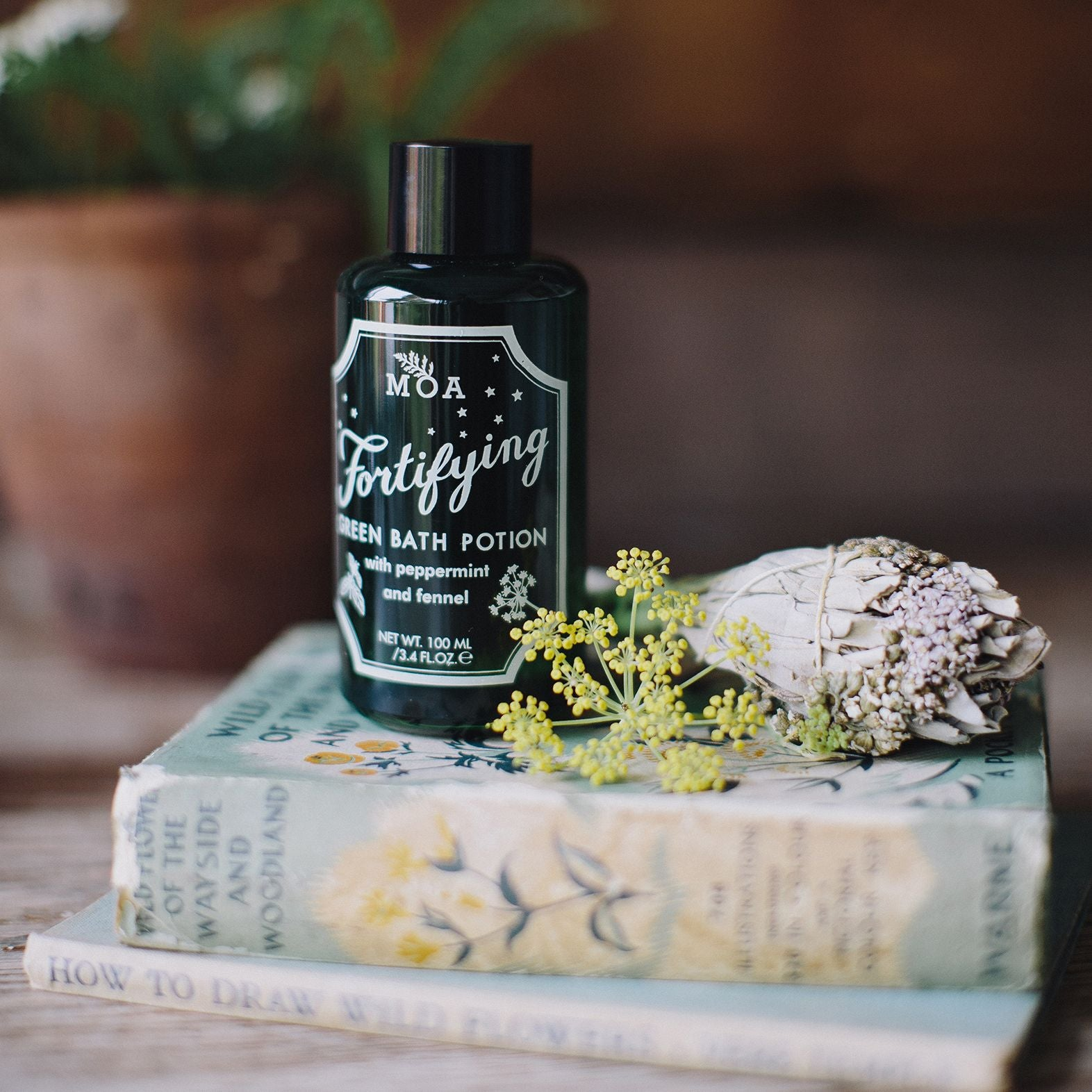 Natural Fortifying Bath Potion