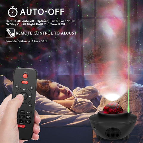 GazeLight NebuLight Starry Sky Night Projector