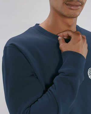 FINGERPRINT Sweater (Blau)
