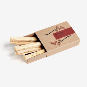 PALO SANTO HAMPER / 5 STICKS
