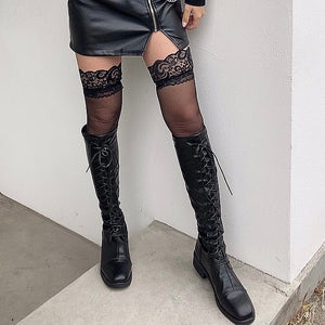 【即納商品】GARTER RACE STOCKING