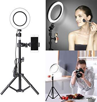All in One Photography LED Ring Light- With Compatible Accessories