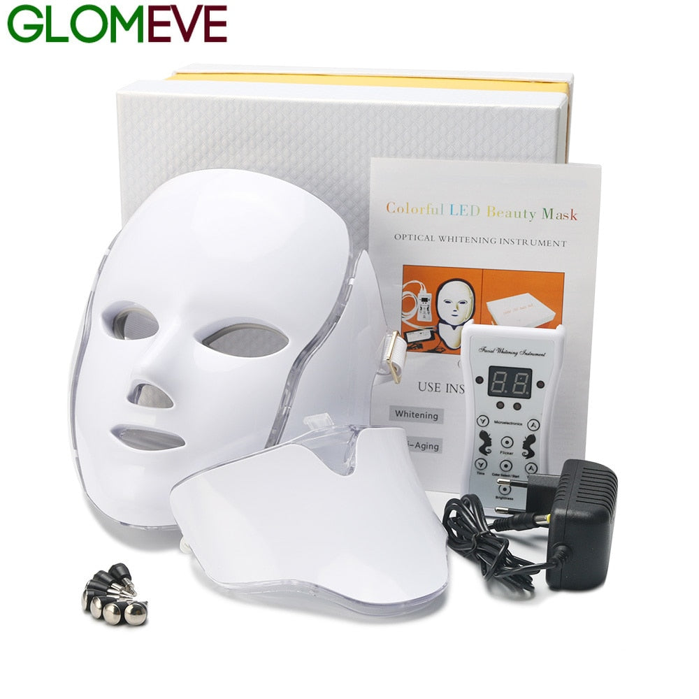Beauty Therapy Photon LED Facial Mask-In 7 Colors
