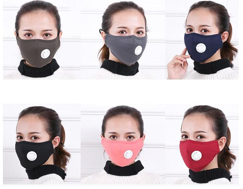 Face Masks with Dust and Smog Protection comes with air filter respirator
