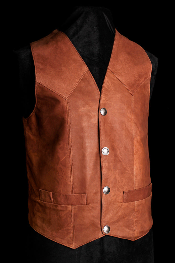 Men's Western Fully lined Vest