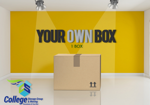Your own box/plastic bin