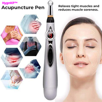 Electronic Acupuncture Pen Therapy Tools for Pain Relief
