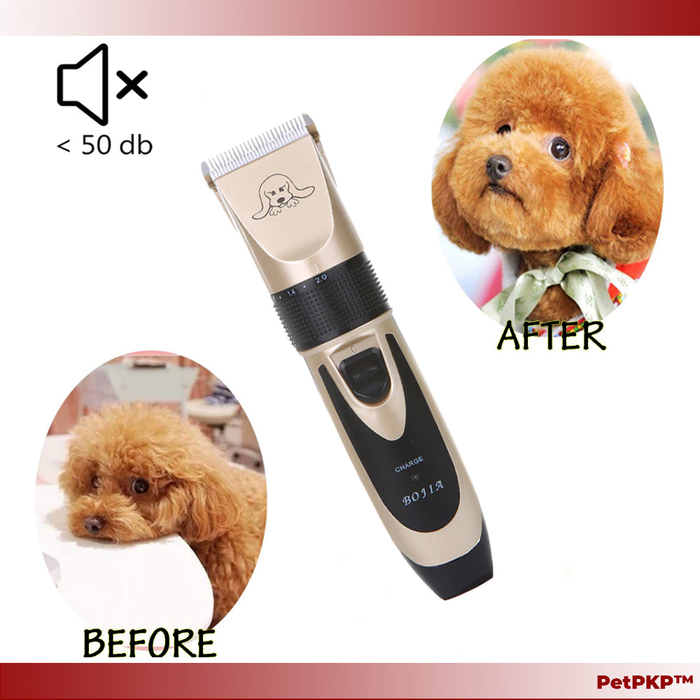 Rechargeable Trimmer n Shaver Pet Grooming Hair Clipper Machine