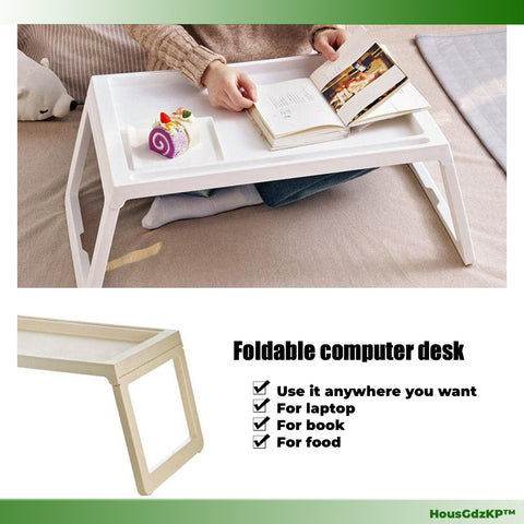 Portable Desk Stand as Folding Laptop Table Bed n Sofa Tray