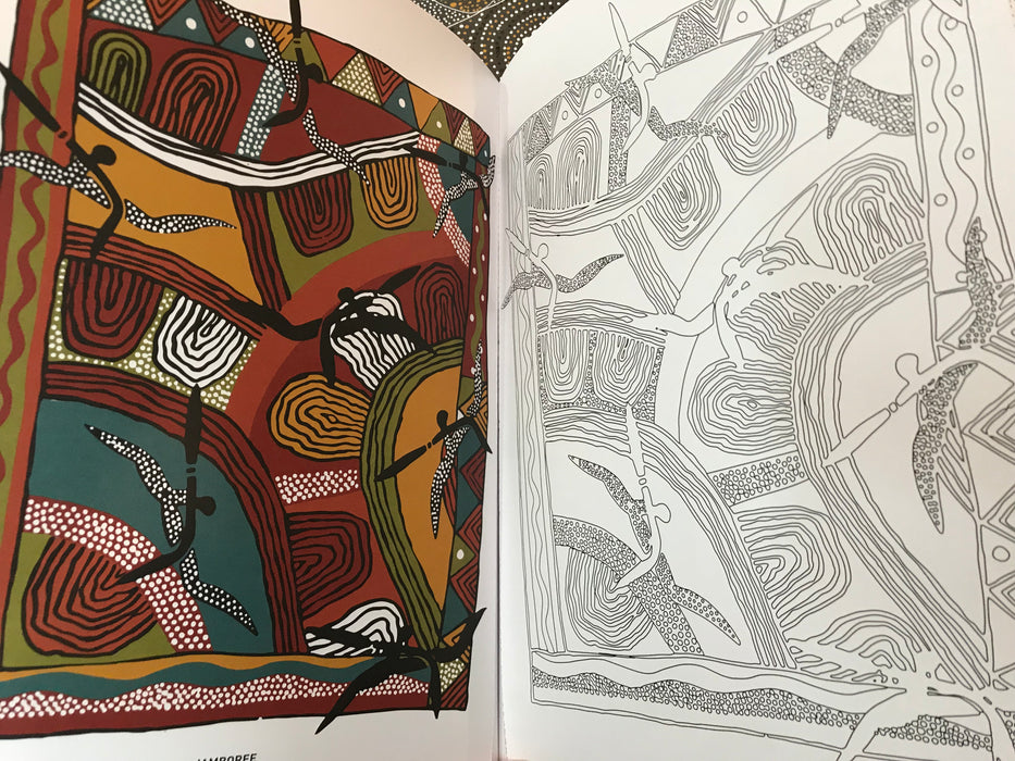 Colouring Country An Austalian Dreamtime Colouring Book