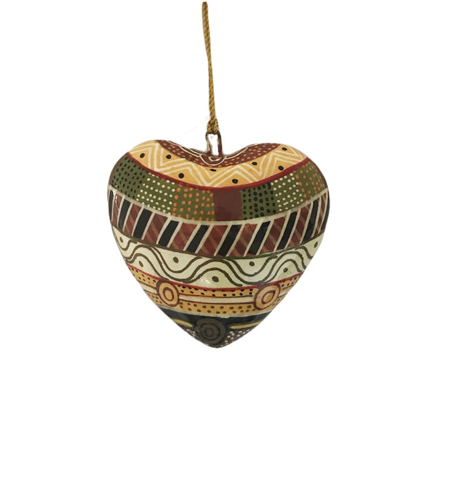 Decorative Heart Christmas Ornament Josette Papajua